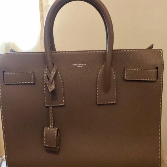 Yves Saint Laurent Handbags - Saint Laurent Sac de Jour tote bag